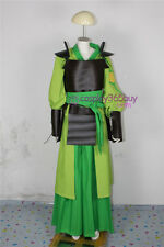 Avatar The Last Airbender Kyoshi Warriors Cosplay Costume include shoulder prop