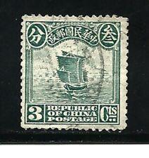 China Stamps- Scott # 224/A24-3c-Canc/H-1913