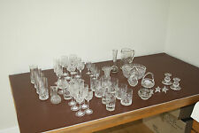 VINTAGE WEDDING CRYSTAL FOR VASES TABLE DRESSING ETC  RIDICULOUSLY CHEAP LOT