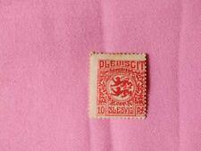 STAMPS - TIMBRE - POSTZEGELS - DUITSLAND SCHLESWIG 1920  NR. 4 *  (D162)