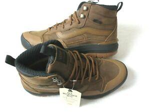Vans Women's UltraRange Exo Hi MTE Hiking Boots Daschund Brown Black Size 8 NWT