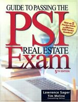 Guide To Passing The Psi Real Estate Exam  by Lawrence Sager