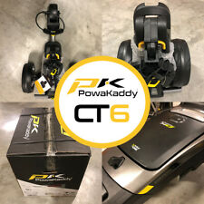PowaKaddy CT6 Compact Electric Golf Trolley 18 Hole Lithium - NEW! 2021