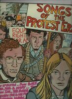 SONGS OF THE PROTEST ERA AUSSIE LP Byrds/Donovan/Phil Ochs/Turtles/Joan Baez