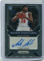 2020-21 Prizm Isaiah Stewart *Rookie Signatures* AUTO RC Autograph #RS-IST