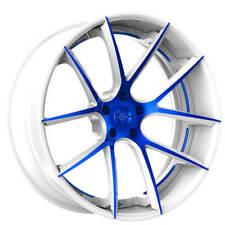 "(4) 22"" Staggered Lexani Forged Wheels LF Sport LZ-118 Custom Paint Rims(B30)(Fits: LaCrosse)"