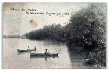 1911 El Dorado Springs, Mo, View on the Lake Postcard