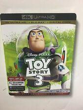 Toy Story 3 (4K Uhd Blu-ray/Blu-ray, Digital Hd) New w/slipcover