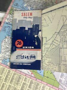 Union 76 Vintage Salem City Map