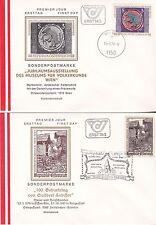 Österreich 1978: FDC  Ausstellung Völkerkunde Wien, 100.GebTag Suitbert Lobisser