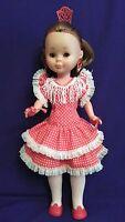 Vestido de GITANA de muñeca Nancy antigua,como nuevo y completo.