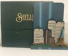 Sheilas Collectibles- Twin Towers Tribute In Light-New In Box
