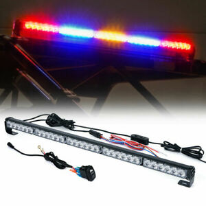 "Xprite 30"" Offroad Rear Chase LED Strobe Light bar with Brake Reverse - RBYBR"