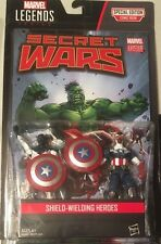 "Marvel Legends Universe 3.75"" Comic 2-pack Shield Wielding hero Captain America"