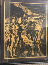 The Artisa - Francisco Corzas Signed Lithograph 1969