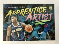 Zion Williamson 19-20 Court Kings Apprentice Artist Rookie Card #9 Pelicans RC