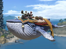 FINAL FANTASY XIV FFXIV FF14 Mount Indigo Whale (Account-wide)