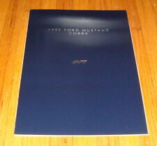 Original 1995 Ford SVT Mustang Cobra Deluxe Sales Brochure