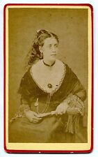 Photo CDV - Arlésienne - Mme Marguerite Fayard - 1885 -