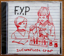 F.Y.P Incomplete Crap CD 1994 SEALED --- punk fyp toys that kill theologian