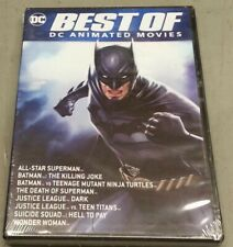 New! Best of Dc Animated Movies (3 Dvd Set, 2020)