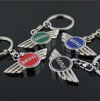 Fashion Car Key Chain Keyring 3D Colorful Auto Keychain For MINI LOGO Metal UK