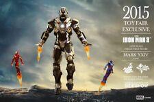 =MIB= 1/6 Hot Toys Iron Man Mark XXIV Tank 2015 Toy Fair Exclusive Retired