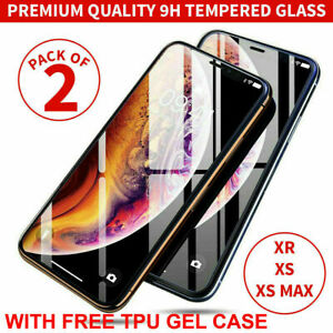 Gorilla Tempered Glass Screen Protector for iPhone 13 Pro Max 12 8 6  XS Max XR