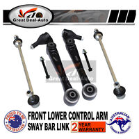 Front Lower Control Arm & Sway Bar Link Suit for Ford Territory TX SX SY 2WD AWD