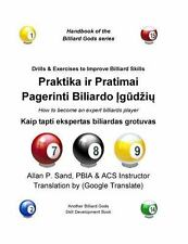 Drills and Exercises to Improve Billiard Skills (Lithuanian) : How to Become...
