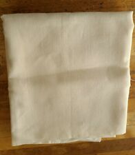 "Linen X Stitch Fabric Cream 96"" x 55"" new"