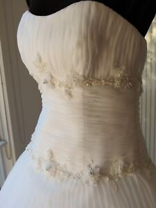 Brand New with Tags Designer Wedding Dress Gown PRINCESS STYLE Free Shipping