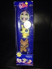 Littlest Pet Shop German Shepherd 1191~ Bee 1189 ~ Bunny 1190~New In Package