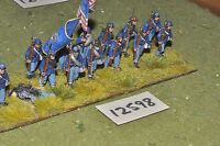 25mm ACW / union - american civil war infantry plastic 13 figs - inf (12598)