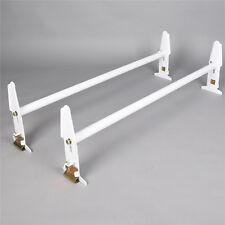 77'' Adjustable Van Roof Ladder Rack Cross Bar Luggage Cargo Carrier 500lbs New