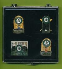 4 Different Oakland Athletics Pin  World Series Grieve Season Ticket Holder Gift