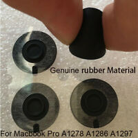 "Apple Macbook Pro, REAL Rubber Feet, 4 Pcs, 13"" 15"" 17"", Apple A1278 A1286 A1297"