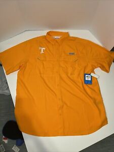 Tennessee Volunteers Columbia Drag Offshore Oxford Button-down S/S Shirt Men 2XL