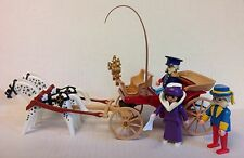 """Playmobil Victorian Horse-Drawn Carriage w/Driver, Ambassador, & Lady  """"NEW"""""""