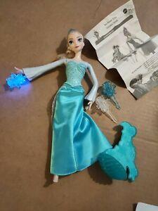 Disney Frozen Elsa. Ice Power Elsa. Ice Throwing Doll. Complete