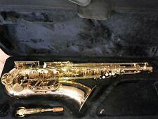 Tenor Saxophon von Thomann in Gold in einem guten Zustand mit Koffer dazu VB