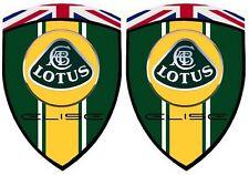2 stickers adhésifs LOTUS ELISE  (idéal pour ailes ou capot avant)