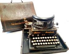►Antigua maquina de escribir SALTER Nº 7 Schreibmaschine rare typewriter 1907►