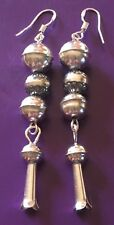 SALE...SALE...$22.50. ..Native American Sterling Silver SQUASH BLOSSOM EARRINGS
