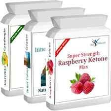 Raspberry Ketone Advanced Plus Colon Cleanse Garcinia Cambogia Diet Pills Bottle