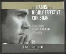 THE HABITS OF A HIGHLY EFFECTIVE CHRISTIAN    4 CDs      Joyce Meyer