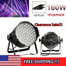 160W Rgb Sound Led Light Par Dmx512 Disco Dj Party Club Stage Show Lighting