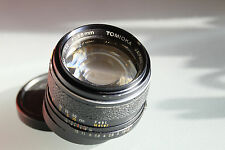 Tomioka Revuenon 55mm f1,2 M-42 Mount Caps  99% Minty  Perfect Condition