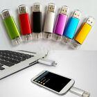 1/2/4/8/16/32GB USB 2.0 Metal Flash Memory Stick Storage Thumb U Disk Flash Lot