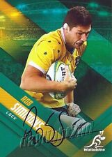 ✺Signed✺ 2017 WALLABIES Rugby Union Card Card ROB SIMMONS